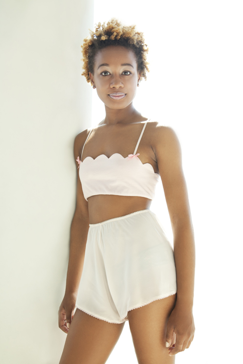 made-in-NYC loungewear by she and reverie ~ luminescette