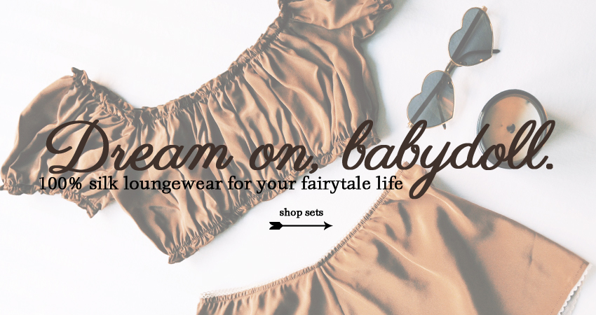 Silk sets for your fairytale life