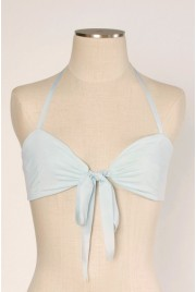 Clamshell Bralette in fragonard blue