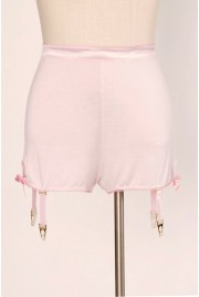 Garter Shorts in candy floss