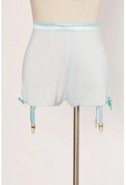 Garter Shorts in fragonard blue