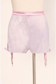 Garter Shorts in violet pastille