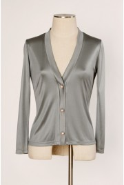 Venice Cardigan in atlantic grey