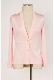 Venice Cardigan in candy floss