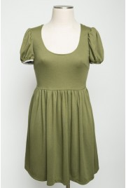 Trianon Gardens Dress in spring ivy