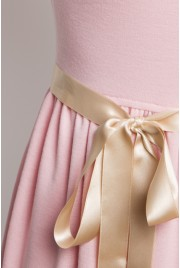Trianon Gardens Dress in chiffon rose
