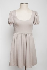 Trianon Gardens Dress in earl grey creme, size S