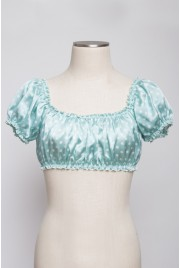 Sixties Sun Top in fragonard blue