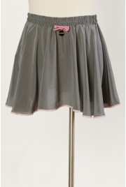 Ballet Miniskirt in charcoal