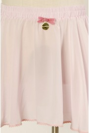SAMPLE SALE ~ Ballet Miniskirt in cameo pink, size S