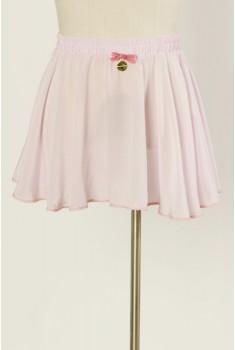 Ballet Miniskirt in cameo pink