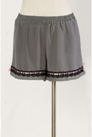 Bloomer Shorts in charcoal