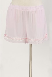 Bloomer Shorts in cameo pink