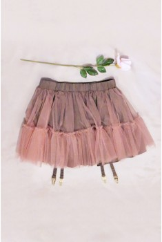 Gartered Pettiskirt
