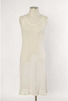 Saltwater Tank Dress in pearl